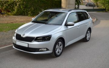 Škoda Fabia III combi